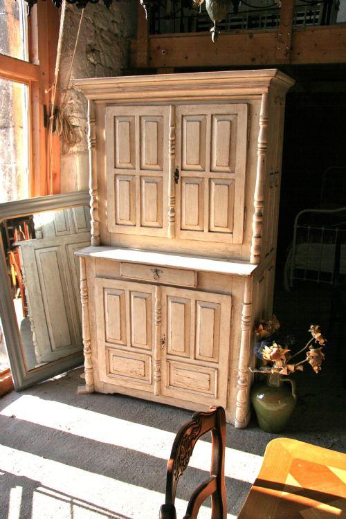 continental original paint kitchen cupboardsideboard