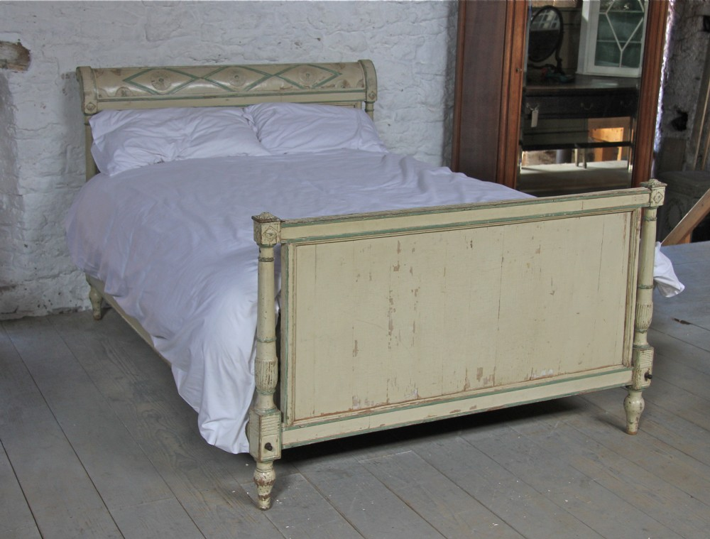 1880 Directoire Style All Original Painted King Size Bed ...