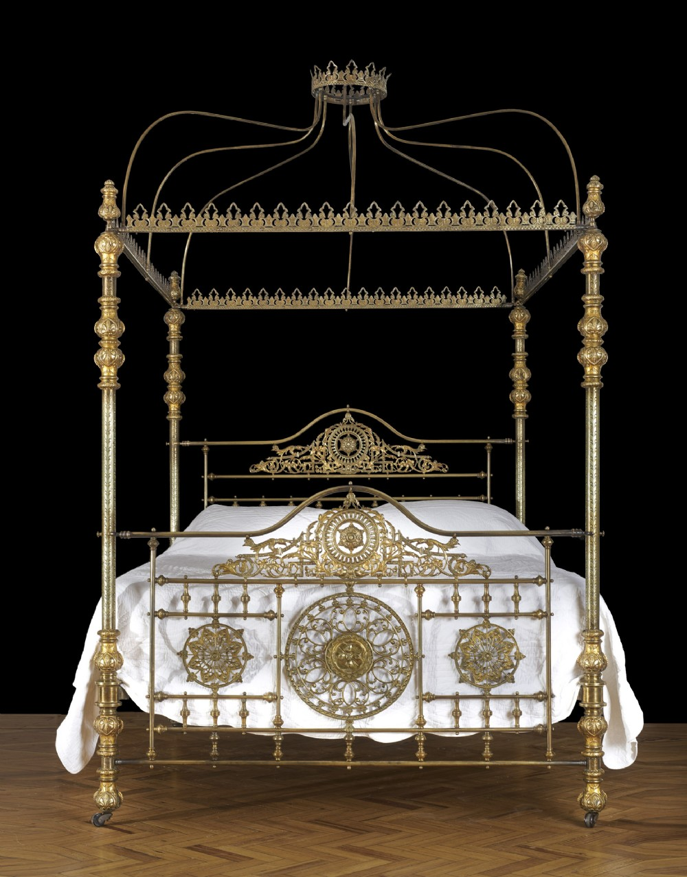 The Most Spectacular Winfield 6ft Super King Size All Brass Four Poster Bed 662867 Sellingantiques Co Uk