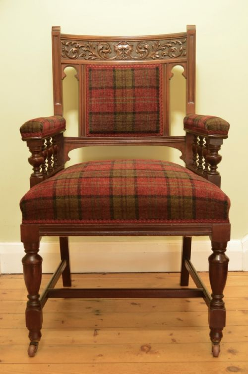 Belle Vue Antiques - Antique Fireside Chairs - The UK's Largest Antiques Website