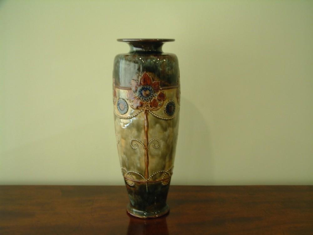 Royal Doulton Art Nouveau Lambeth Vase 253026 Sellingantiques