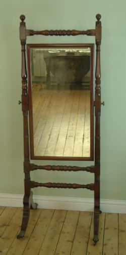 large mirror antique walnut antique cheval mirrors the uks largest antiques website