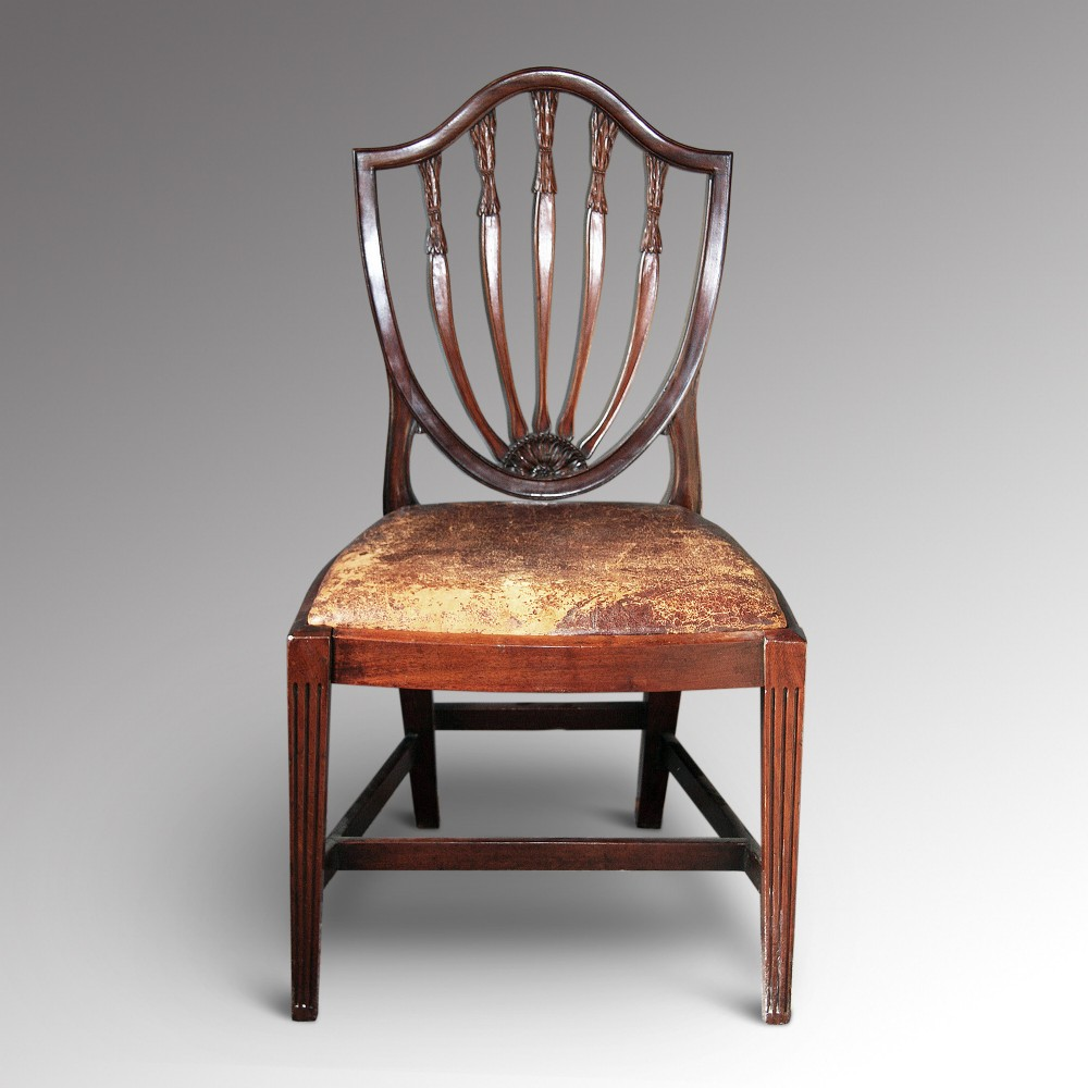 A Hepplewhite Single Chair 260712