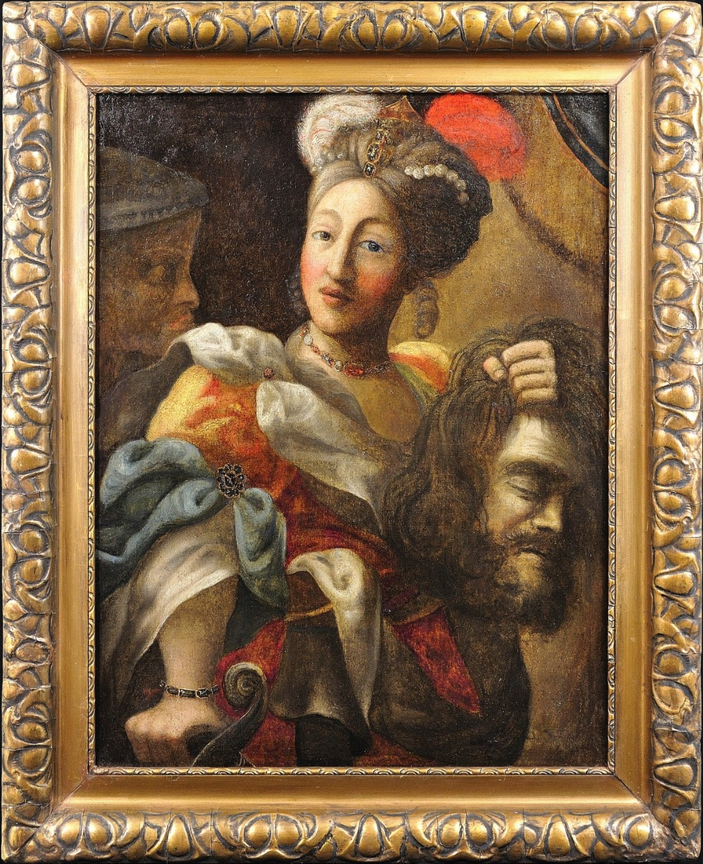 19th century continental follower of peter paul rubens 1577 1640 judith and the head of holofernes oil on canvas