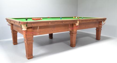 Tremendous Billiard Snooker Pool Table Solid Oak English Antique 1905 Download Free Architecture Designs Scobabritishbridgeorg