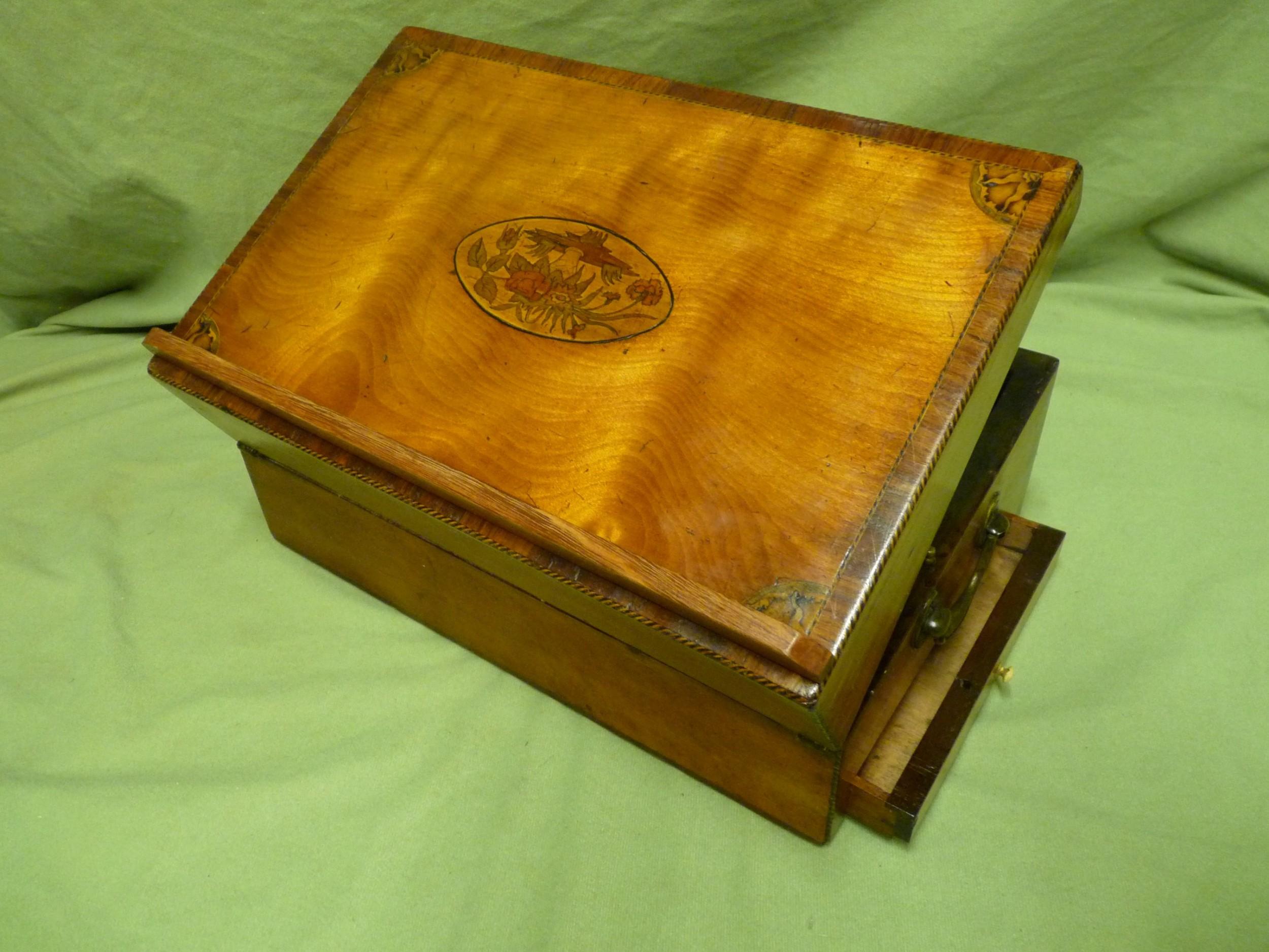 rare georgian lectern writing box c1790