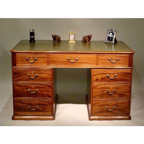 george iii period mahogany partners desk