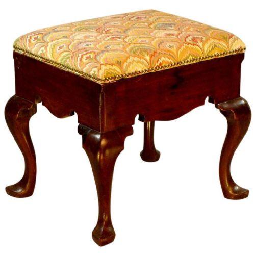 george ii period walnut stool