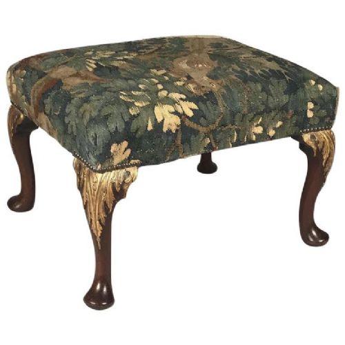 fine george i period walnut stool