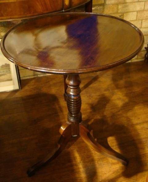 georgian mahogany dished top table