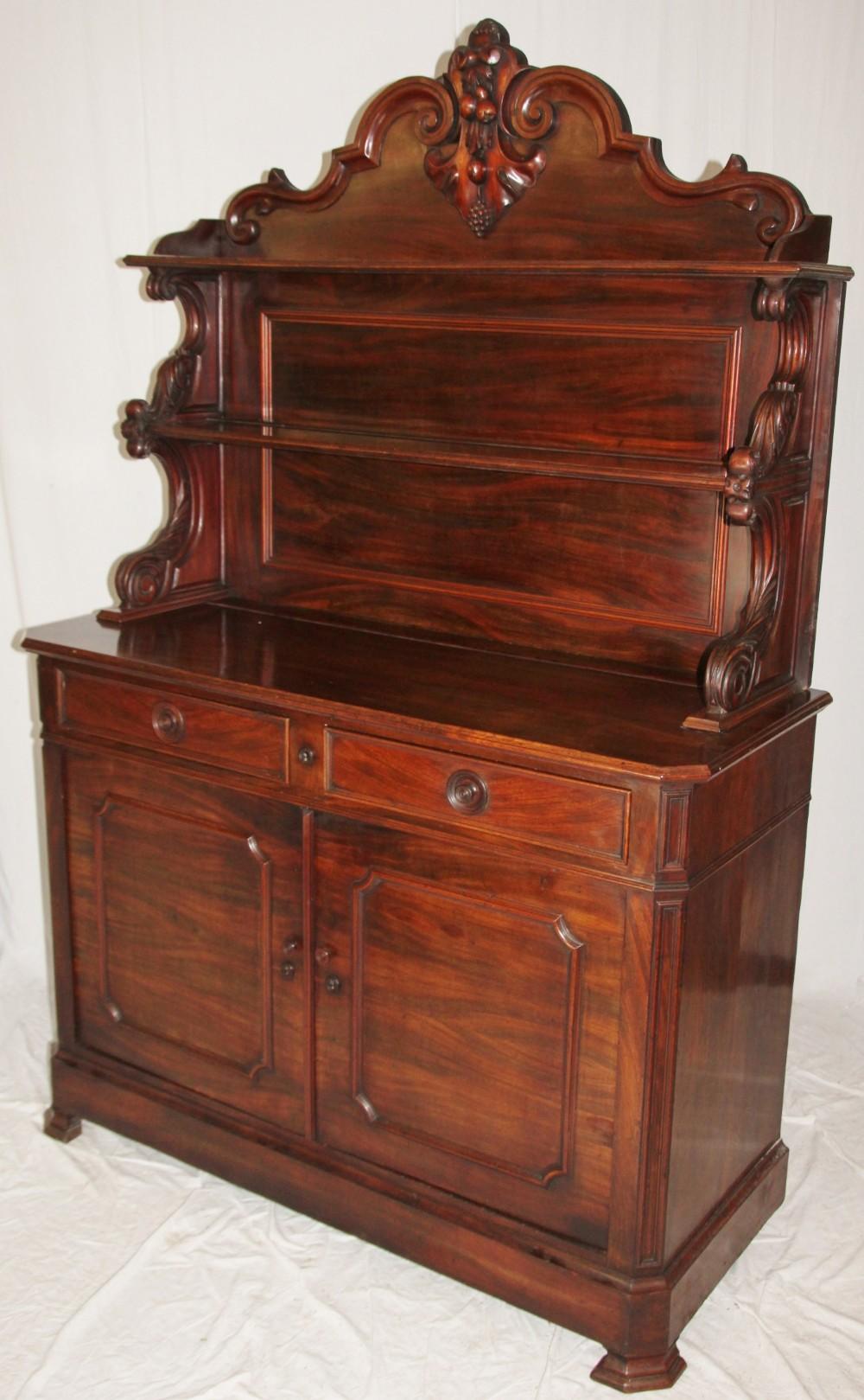 19th century mahogany chiffonier 255997