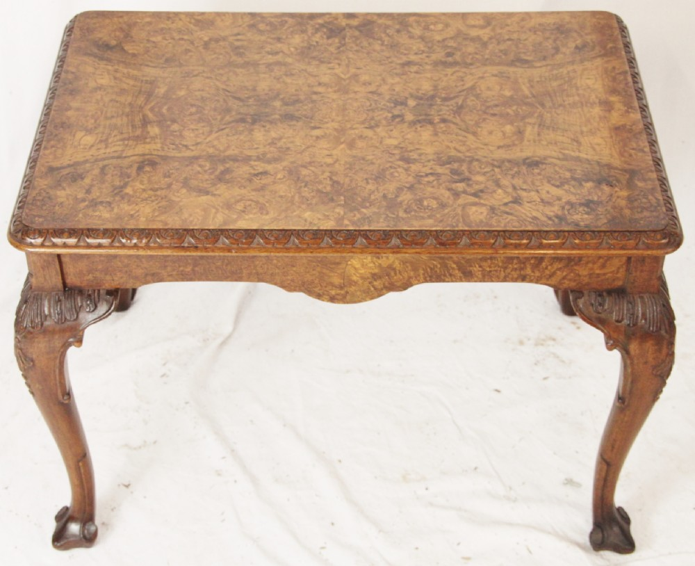 Burr Walnut Coffee Table 270961