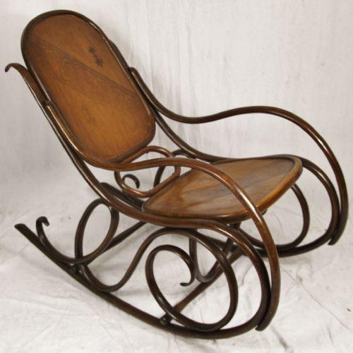 Bentwood Rocking Chair 206524