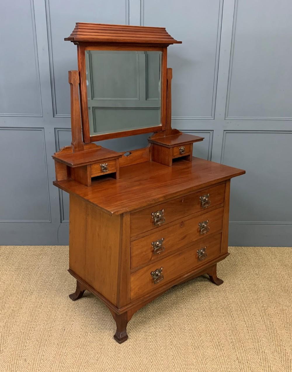 maple and co art nouveau dressing chest