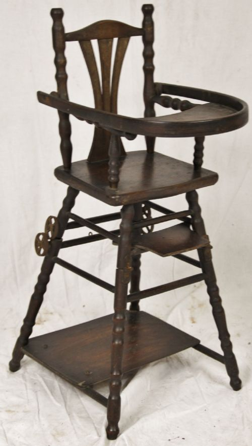 french dolls high chair