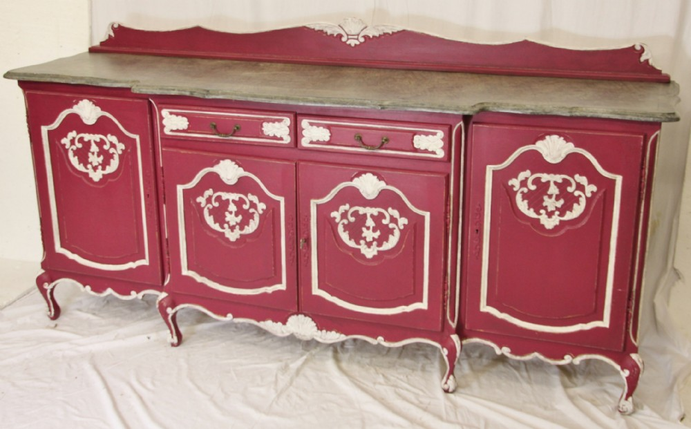 shabby chic sideboard in morrocan colours 240188. Black Bedroom Furniture Sets. Home Design Ideas