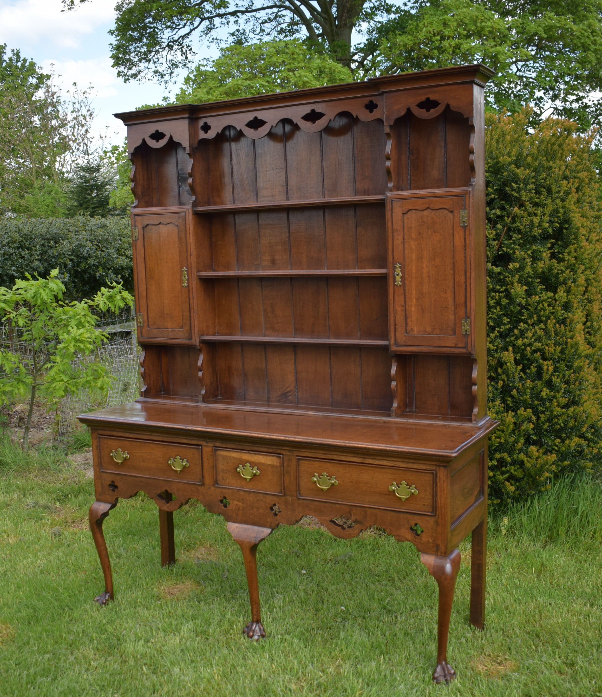 antique welsh dresser georgian style