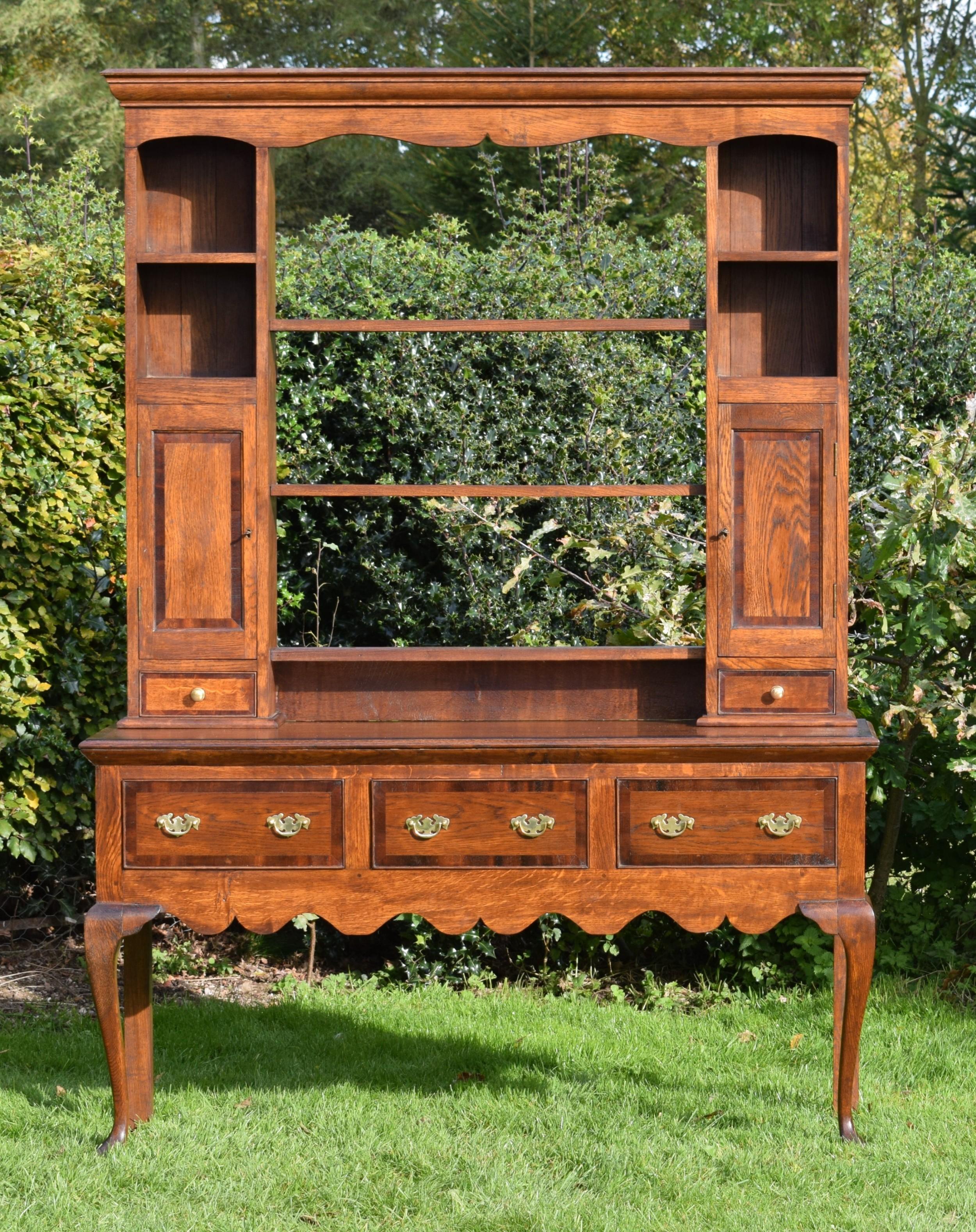 antique welsh dresser rack georgian style