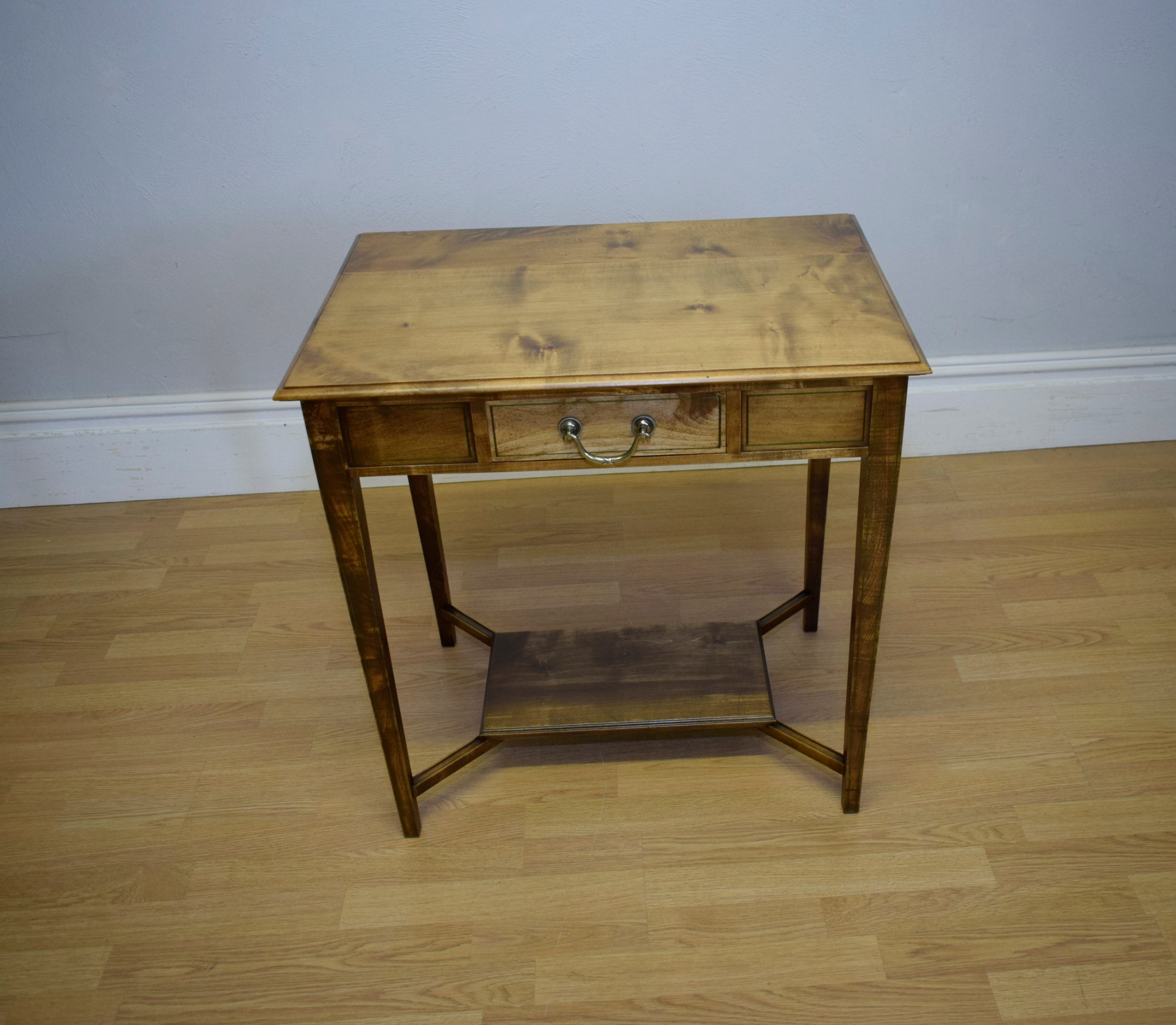 arts crafts console table