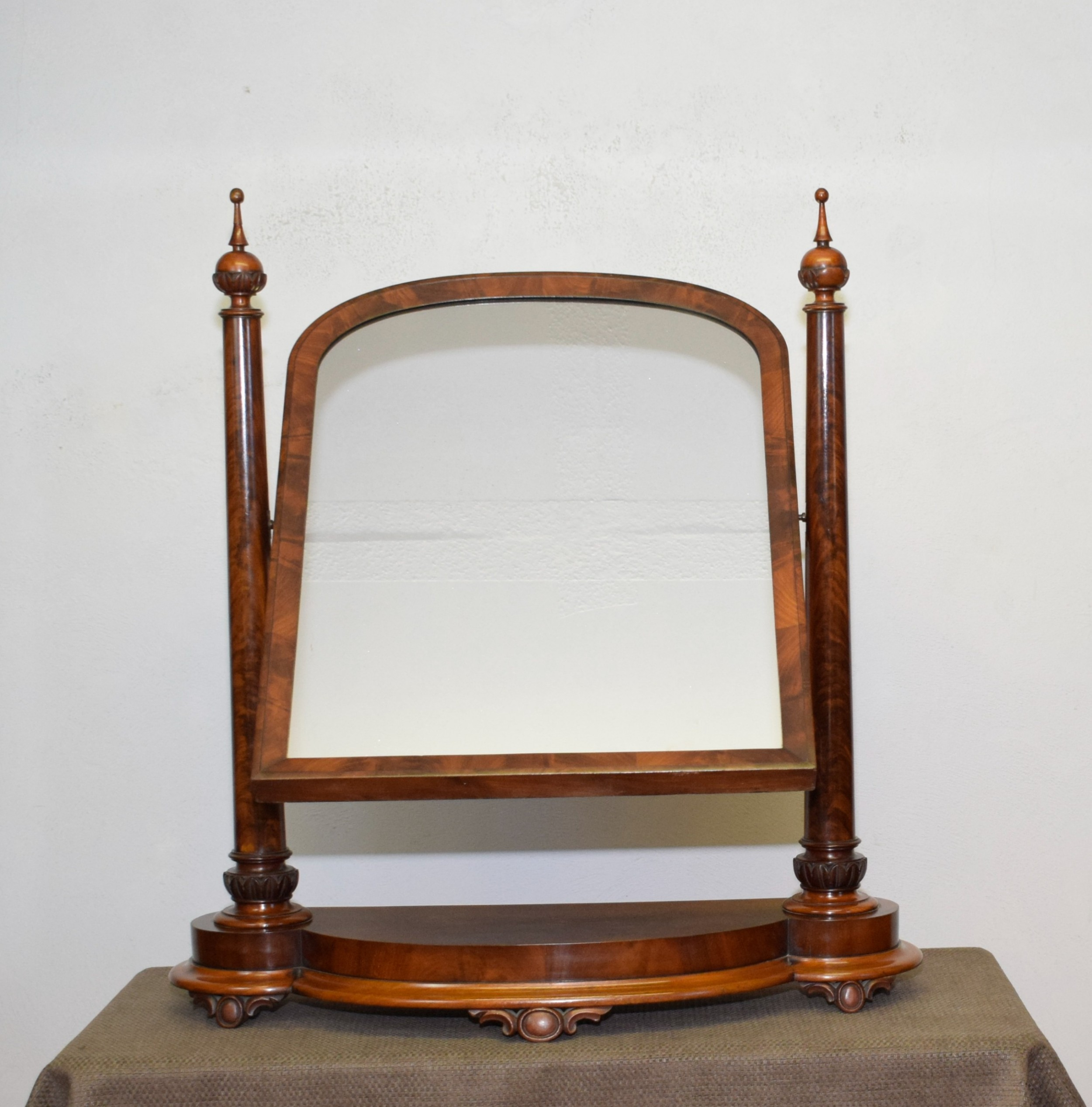 victorian large dressing mirror