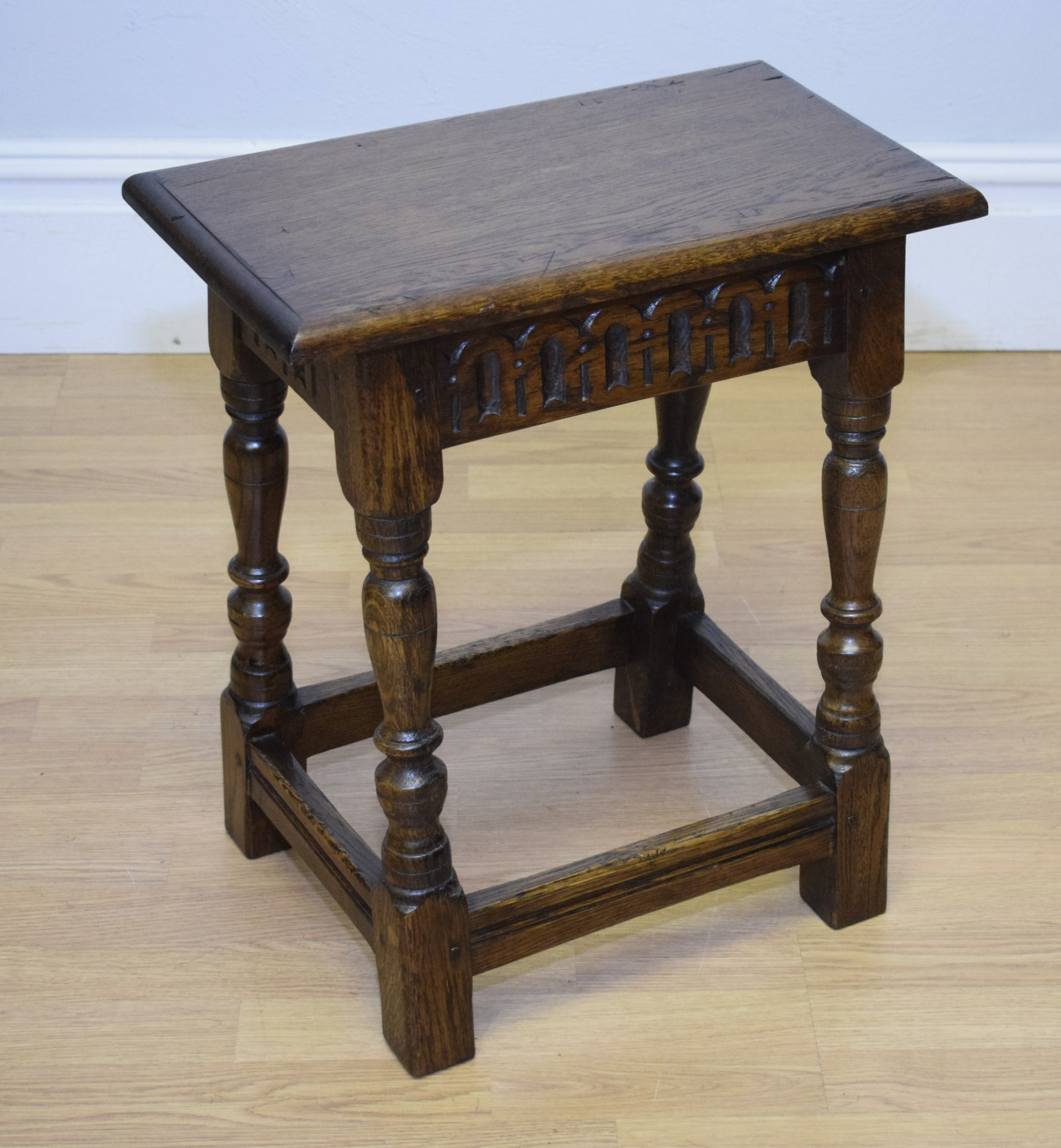 early 20th century joint stool