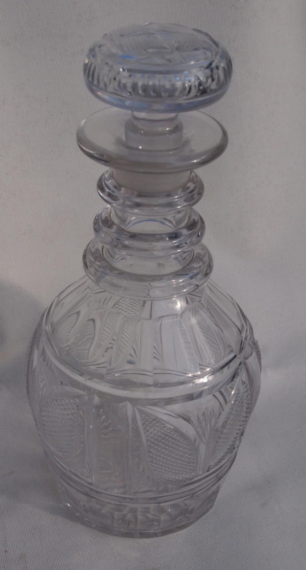 a 19th c spirit decanter