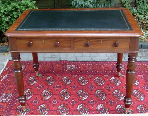 antique table mahogany writing table or antique desk