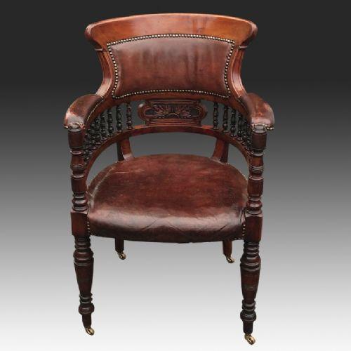 Fabulous Antique Aesthetic Movement Walnut Desk Chair 563423 Pabps2019 Chair Design Images Pabps2019Com