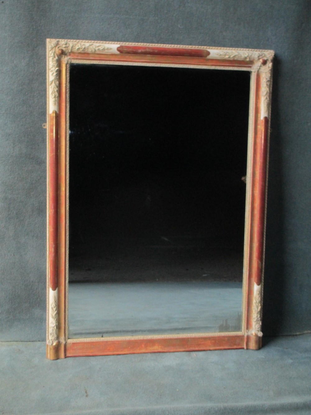 french portrait overmantle mirror a250k700