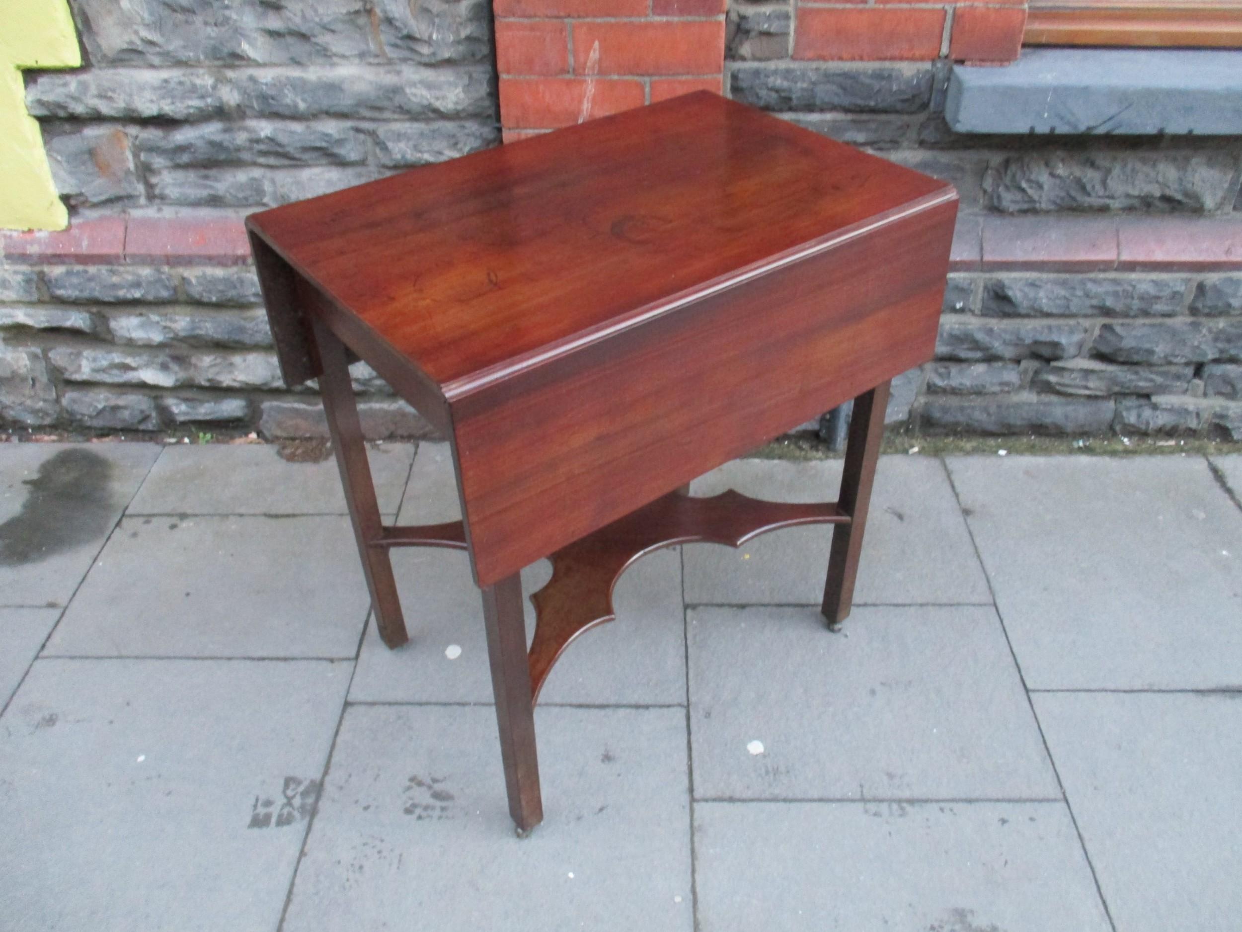 georgian mahogany pembroke table