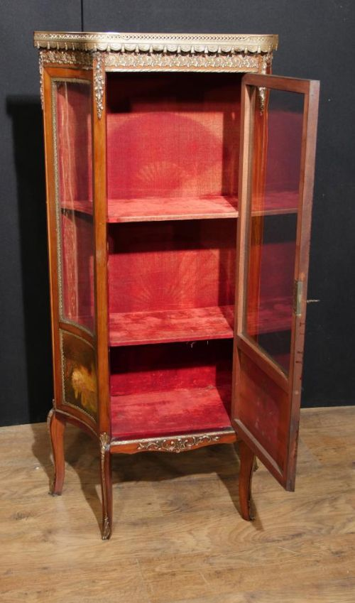 antique display cabinet vernis martin 1890 angela kaufman vitrine