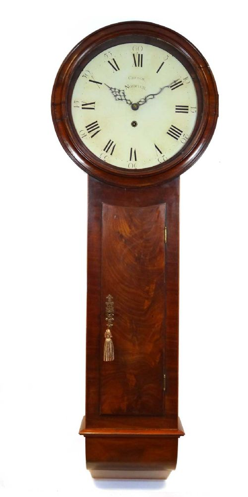 antique norfolk wall clock 249008