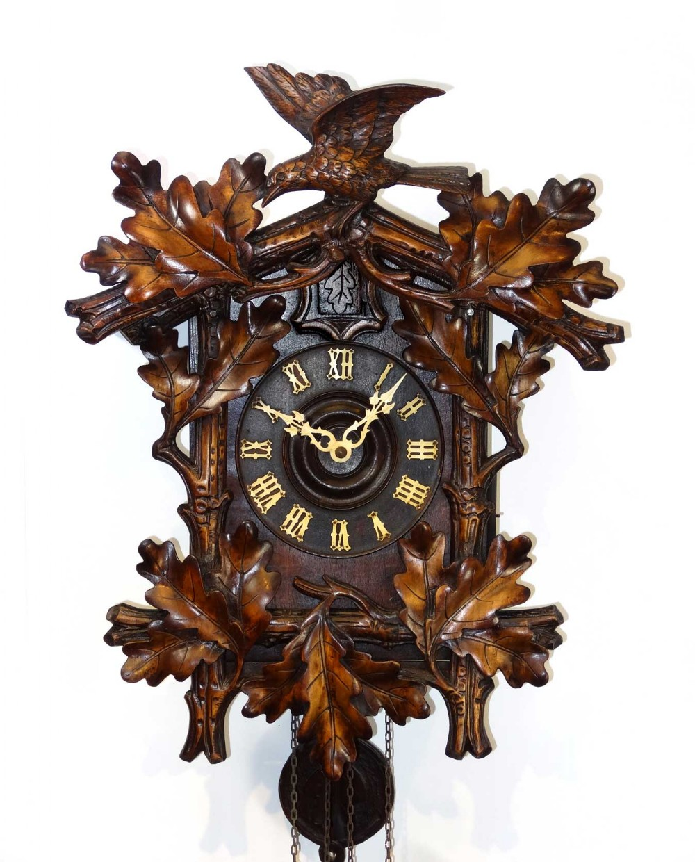 Black forest antique cuckoo clock 254314 How to make a cuckoo clock