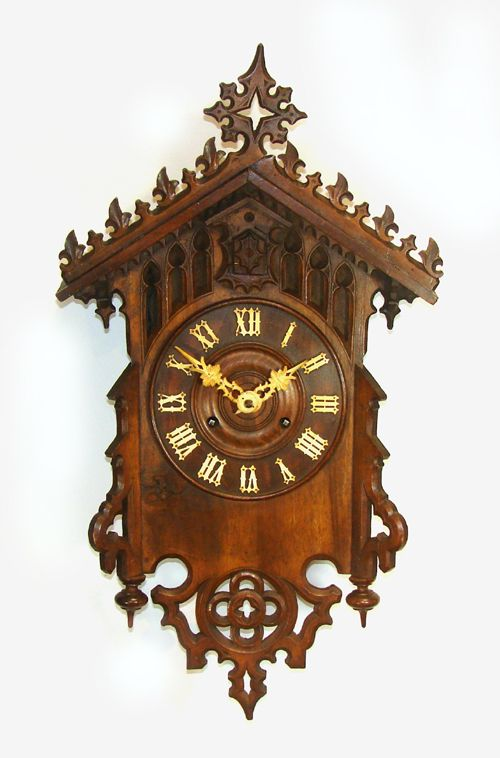 Twin Fusee Cuckoo Clock Possibly By Beha 211974