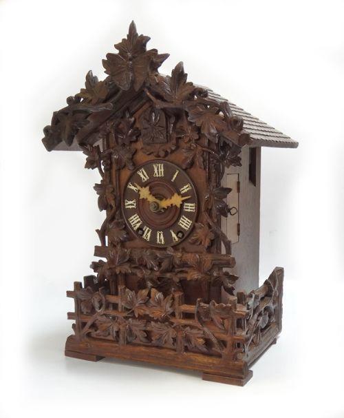 Antique Beha Cuckoo Shelf Clock 230344 Sellingantiques