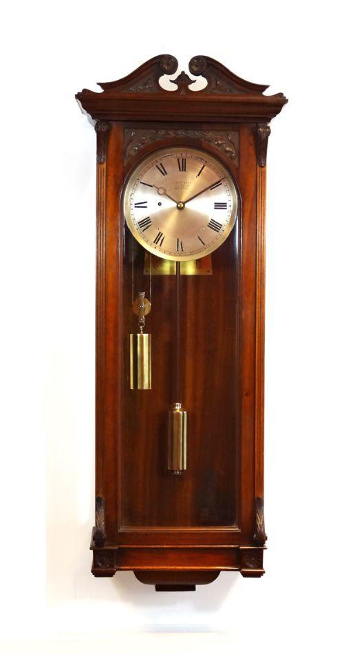 victorian regulator timepiece wall clock