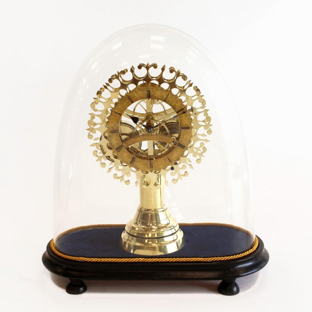 threemonth duration english skeleton clock