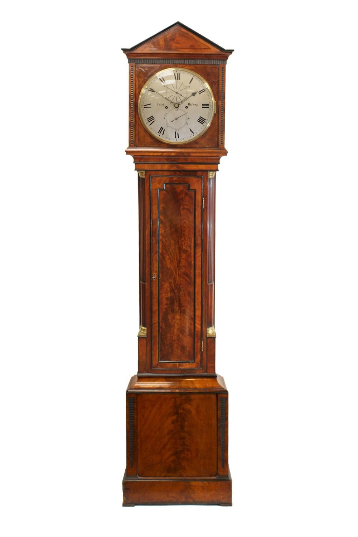 domestic regulator longcase clock tight reading