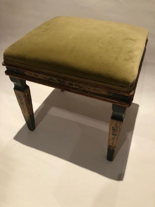 19th century piano stool