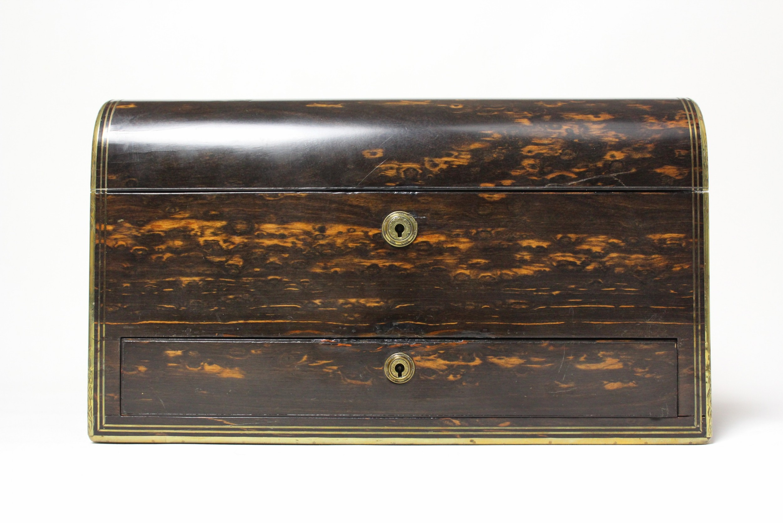 19th century coromandel box