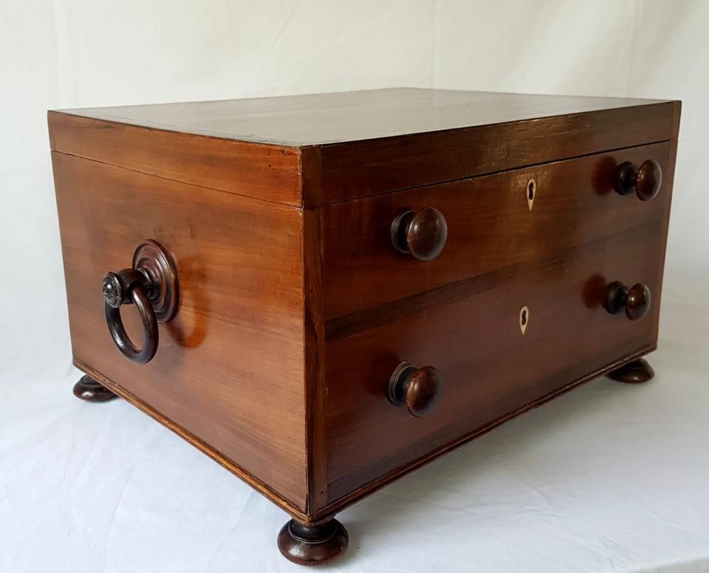 george iii campaign desk trunk