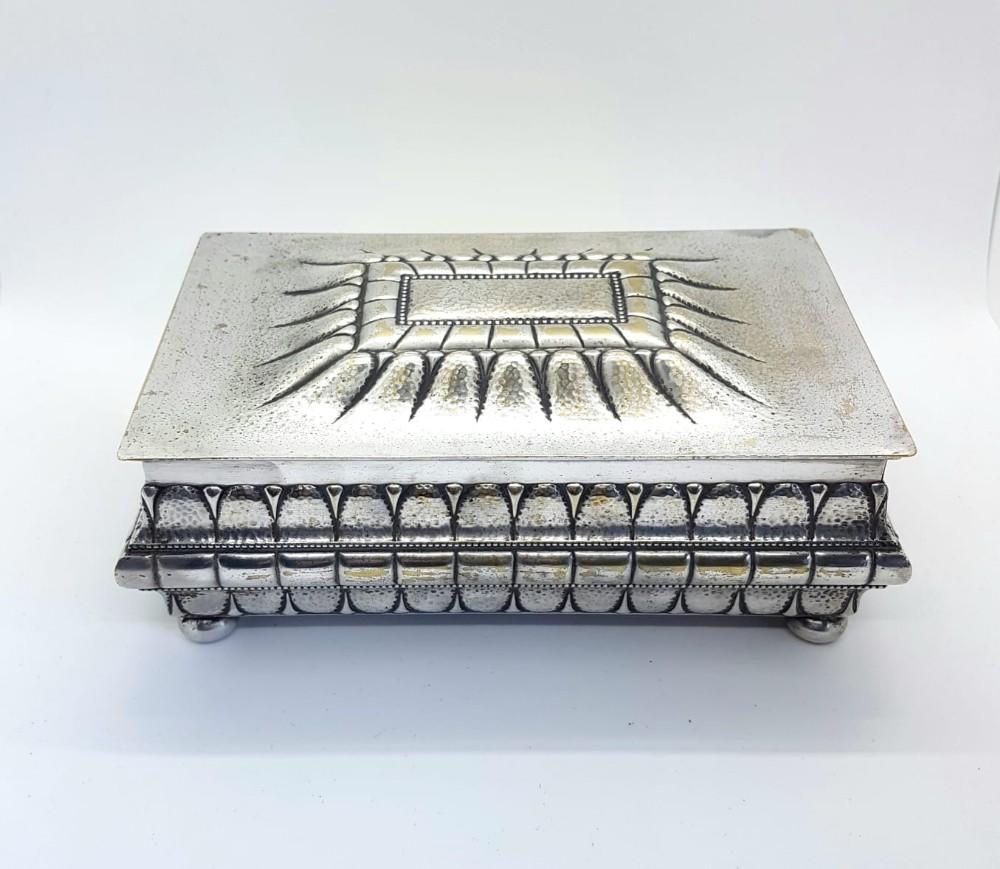 wmf art nouveau cigarette box 1909