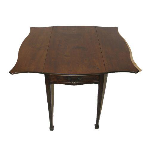 george iii mahogany butterfly pembroke table