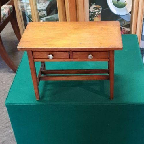 19th century scottish miniature pine side table
