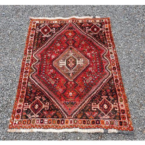 traditional persian qashqai wool rug