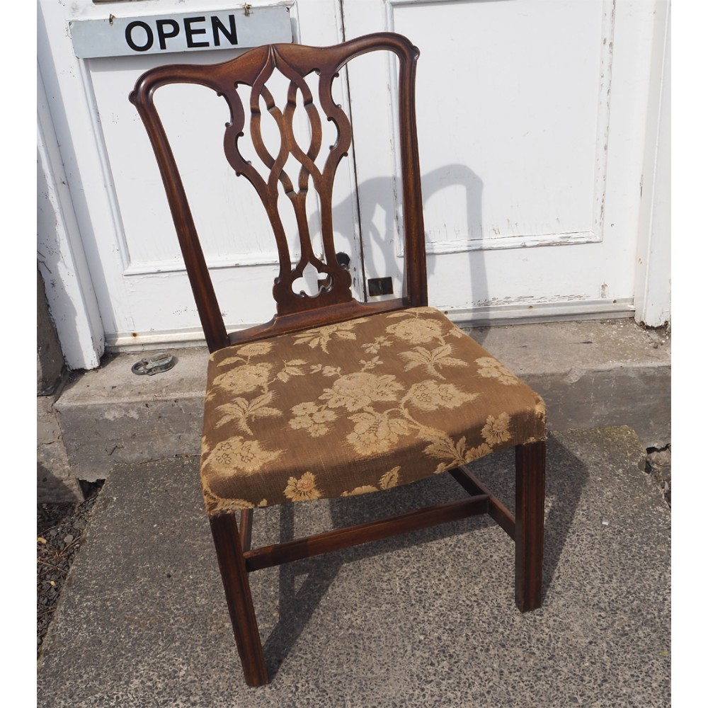 george iii chippendale single hand chair