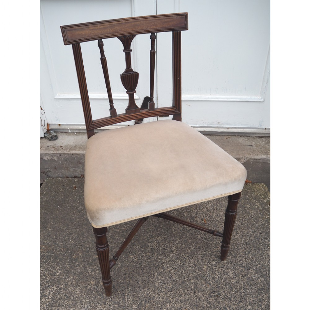 gillows type mahogany dining chair
