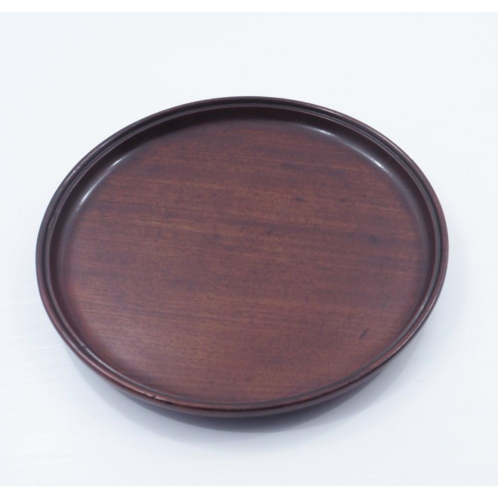 18th century cuban mahogany card tray