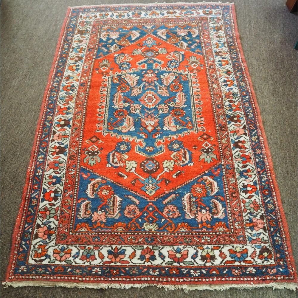 attractive antique persian hamadan rug