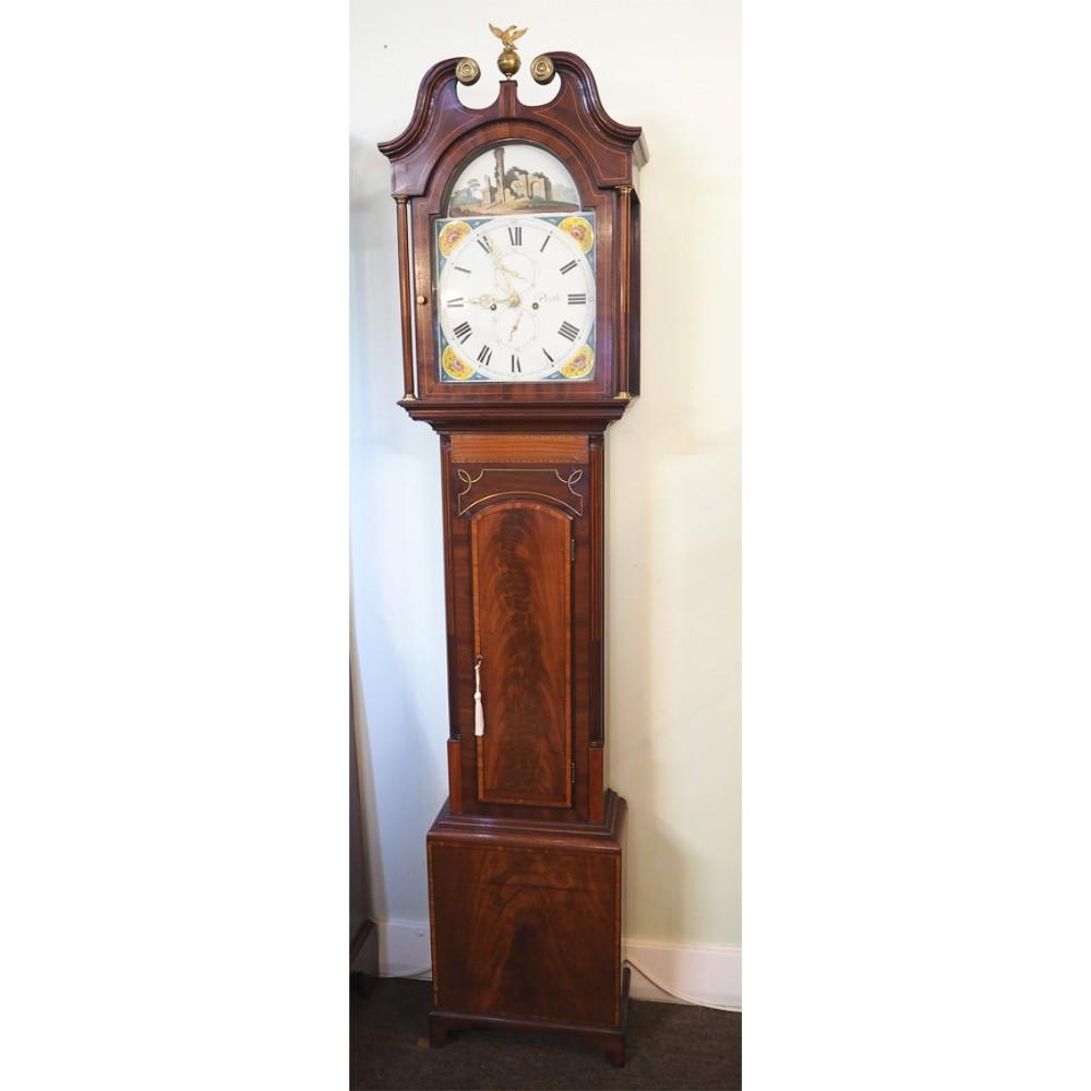 early 19th century scottish longcase clock